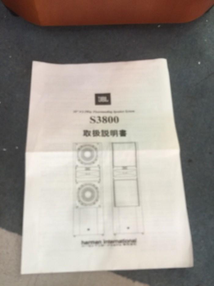 Bán chuyên loa JBL ES S3800 đẹp long lanh.5
