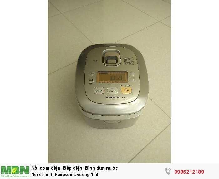 Nồi cơm IH Panasonic vuông 1 lít0