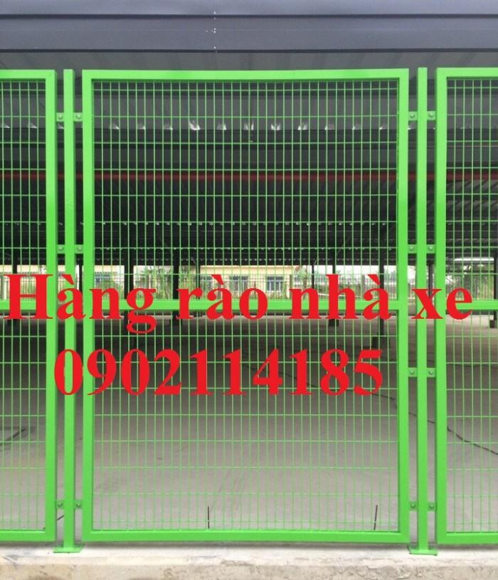 Hàng rào ngăn kho ,hàng rào nhà xưởng ,hàng rào công ty3