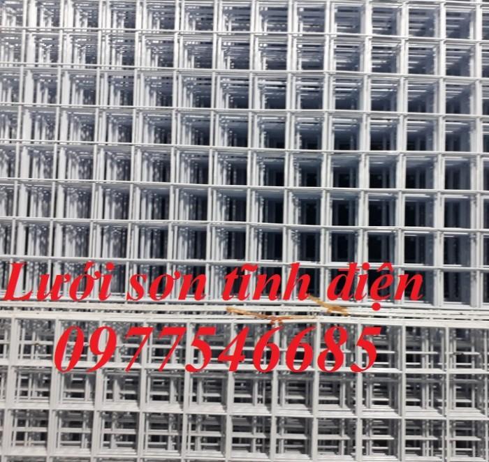 Lưới ô vuông sơn tĩnh điện,lưới bọc nhựa2