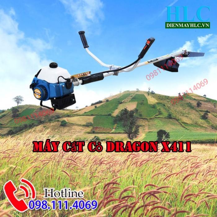 máy cắt cỏ dragon x4111