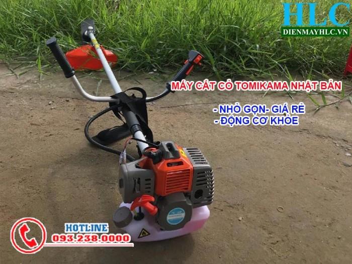 Máy cắt cỏ cầm tay mini Tomikama TK 330, động cơ 2 thì chạy xăng3