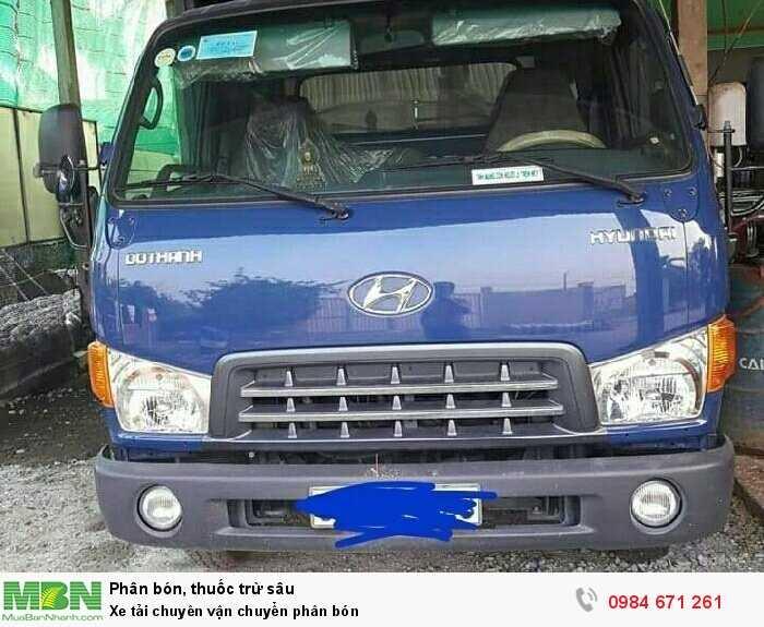 Xe tải chuyên vận chuyển phân bón0