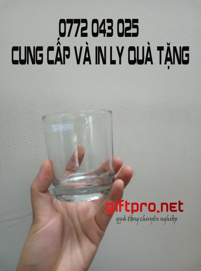 Ly cốc thủy tinh in khắc logo | Nhập khẩu và phân phối ly cốc