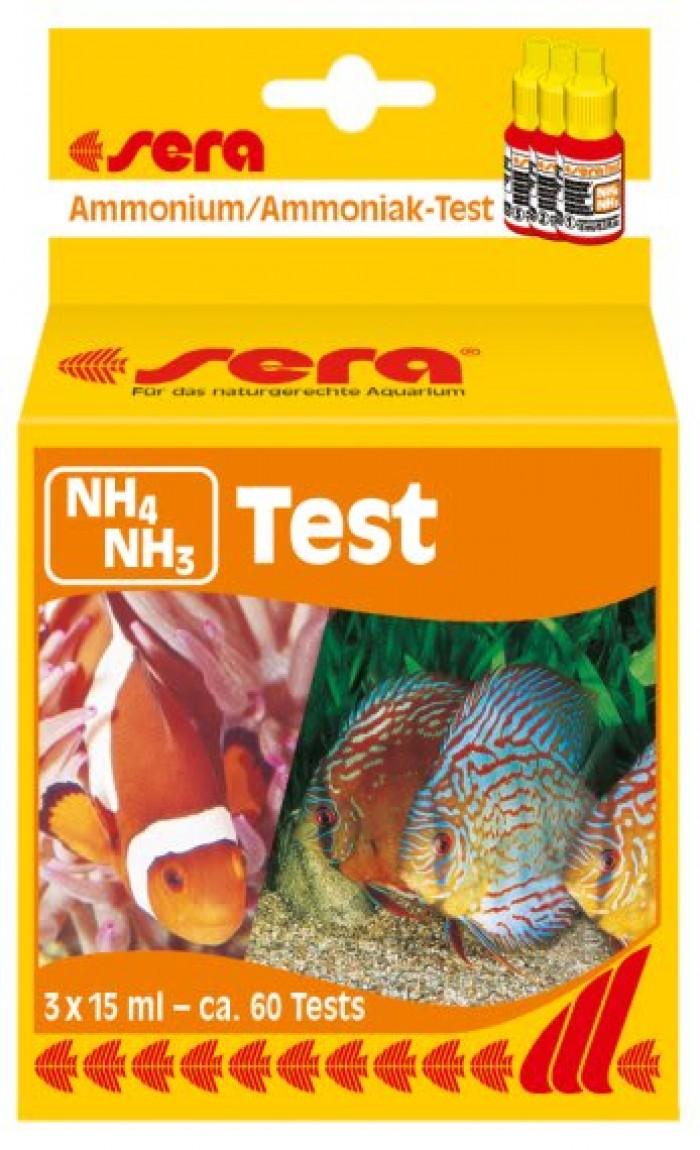 Test NH3/Nh4 sera kiểm tra khí độc Amoniac0