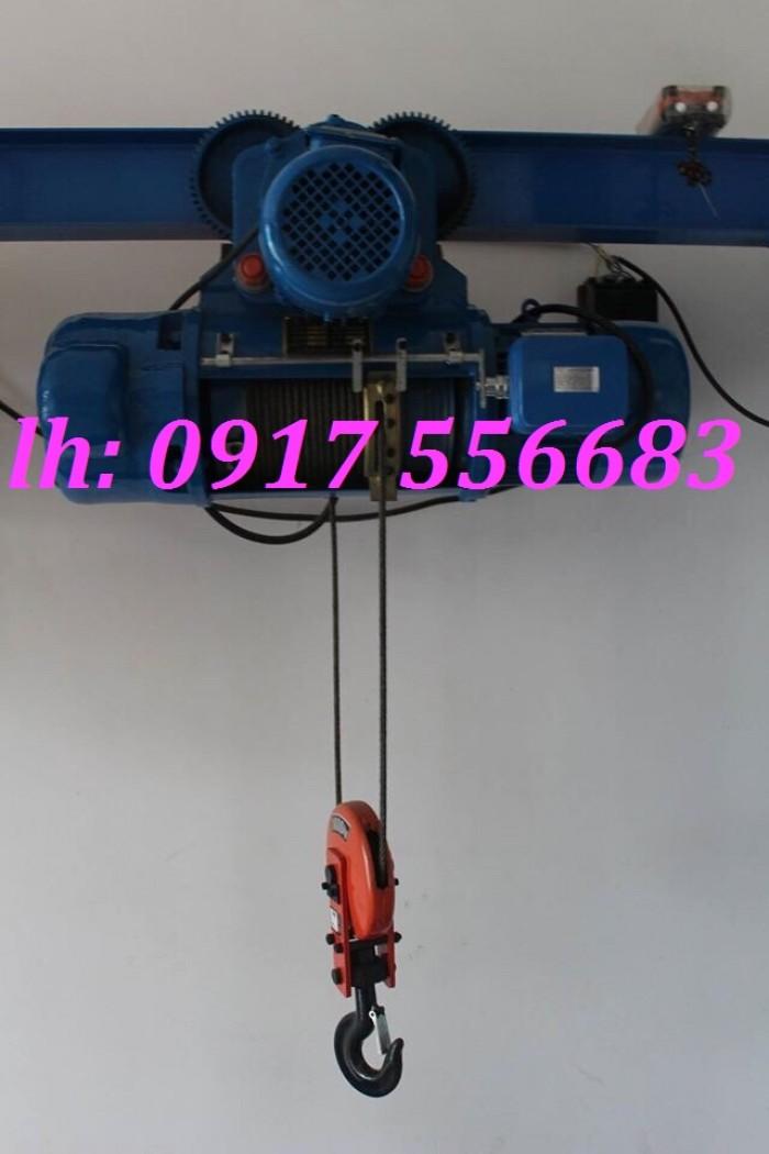 Pa lăng cáp điện trung quốc dùng điện 3pha 380v0