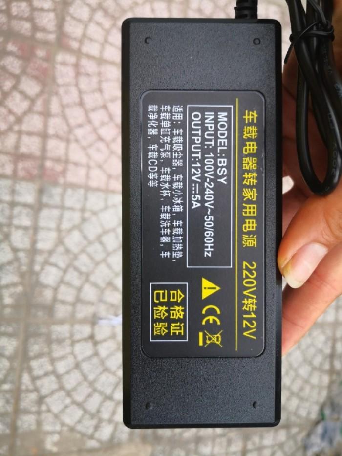 Biến Áp Nguồn 220V Ra 12V - Bộ Adapter Đổi nguồn 12V Đầu Cắm Ô Tô - MSN388367