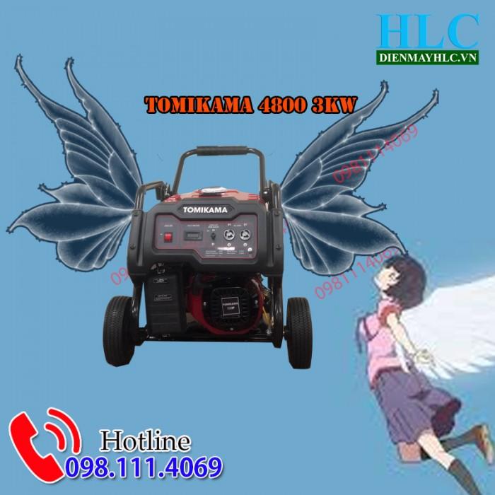 Hình ảnh máy phát điện Tomikama 48000
