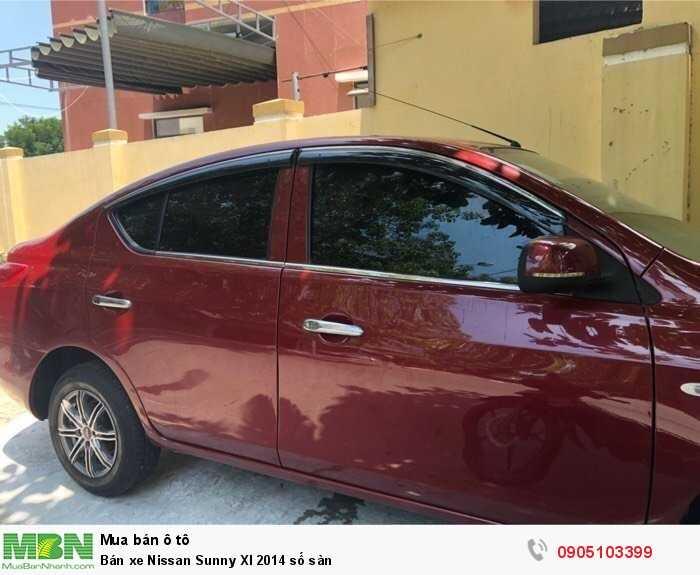 Bán xe Nissan Sunny Xl 2014 số sàn