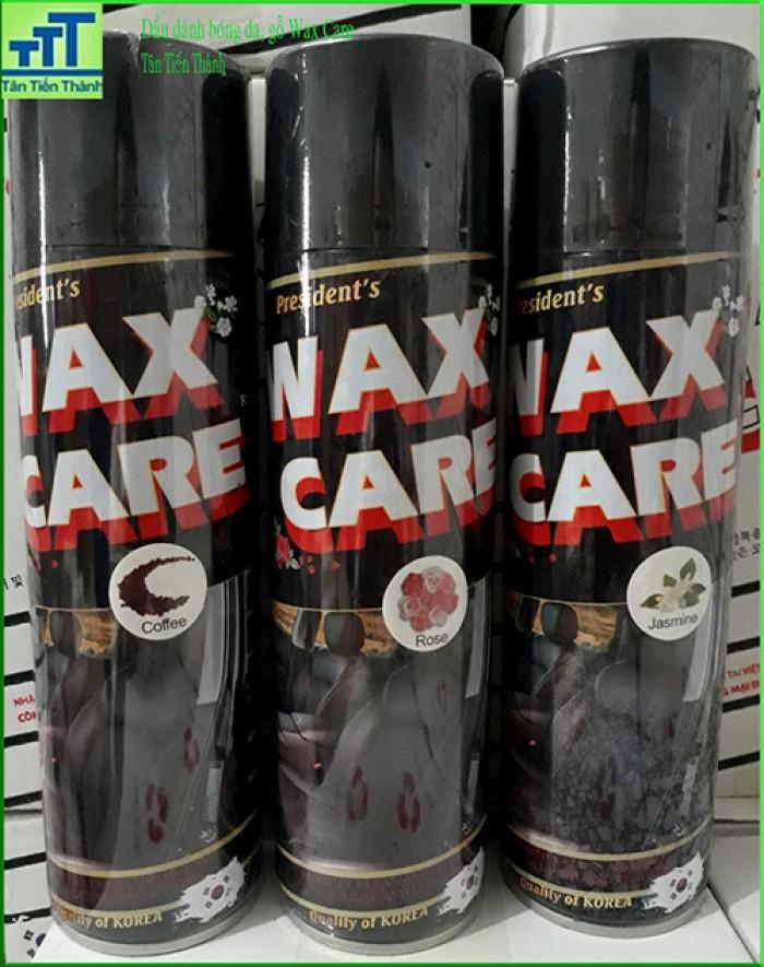 Đánh bóng da, gỗ, taplo, nội thất ô tô Waxcare7