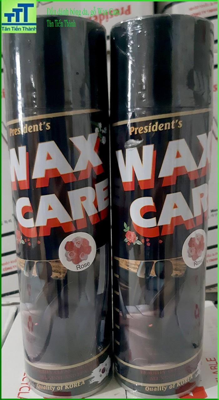 Đánh bóng da, gỗ, taplo, nội thất ô tô Waxcare6