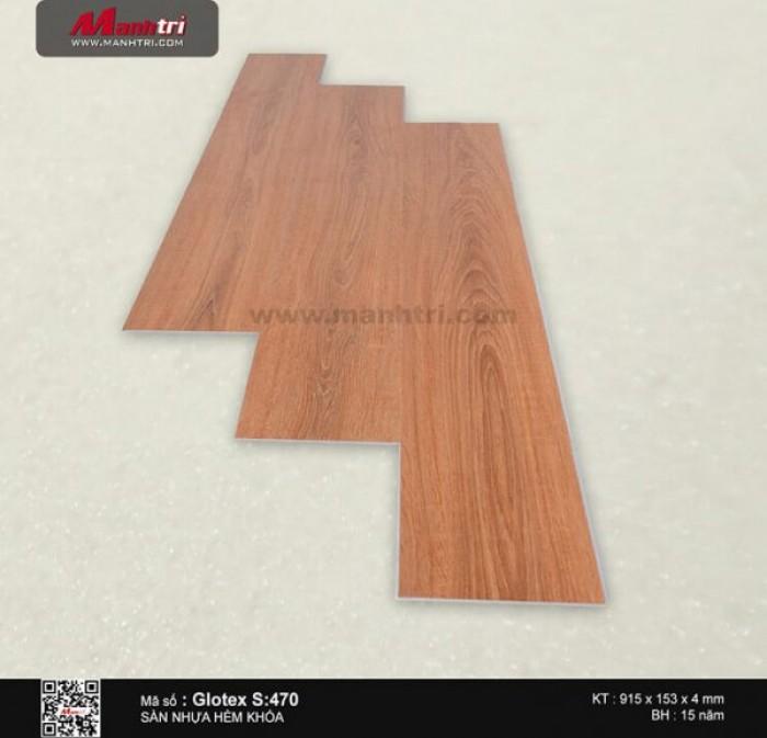 Sàn nhựa hèm khóa Glotex S:4700