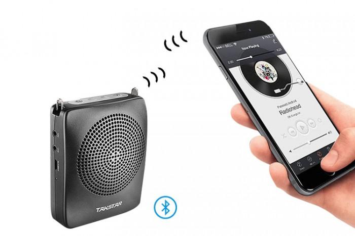 Máy trợ giảng Bluetooth Takstar E128 Sản phẩm E128 bao gồm Máy Takstar E128, microphone đeo tai, Cáp sạc USB, Dây đeo, Hướng dẫn sử dụng. thiết kế nhỏ gọn, tinh tế 2
