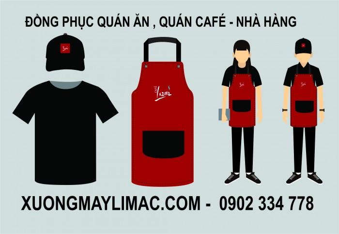 mẫu đồng phục quán ăn , quán cà phê đẹp chất lượng, đẹp và giá cả tốt nhất.2