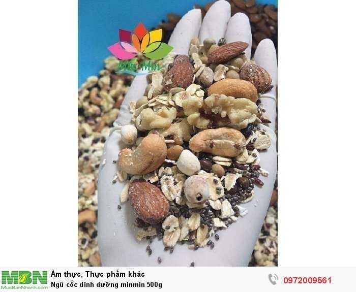 Ngũ cốc dinh dưỡng minmin 500g0