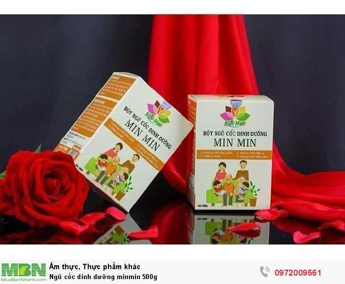 Ngũ cốc dinh dưỡng minmin 500g1