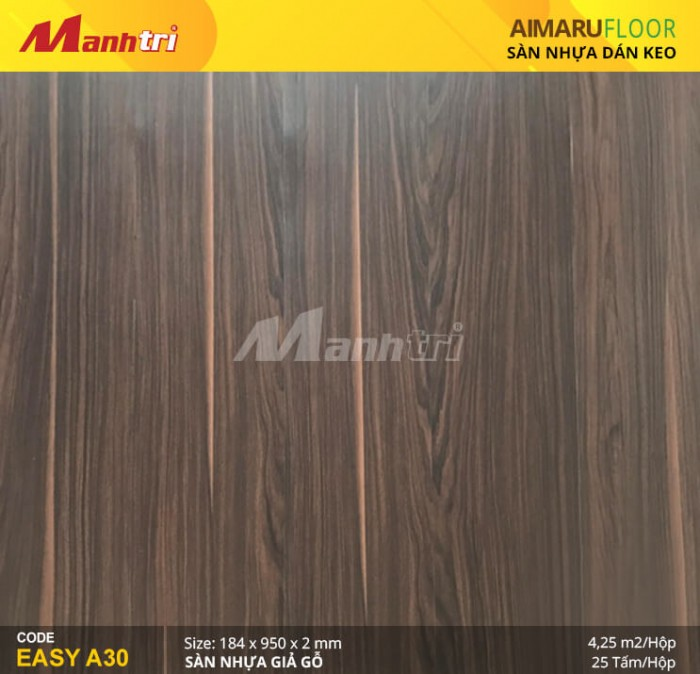 Sàn nhựa giả gỗ Aimaru EASY A300