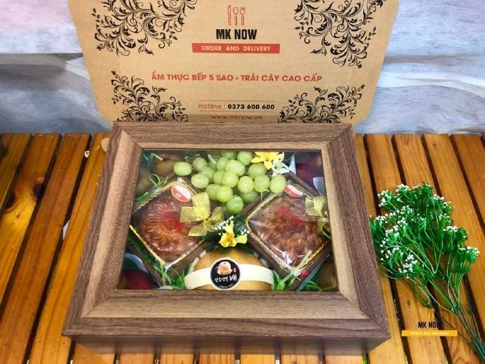 Hộp hoa quả tặng Trung thu MKnow
