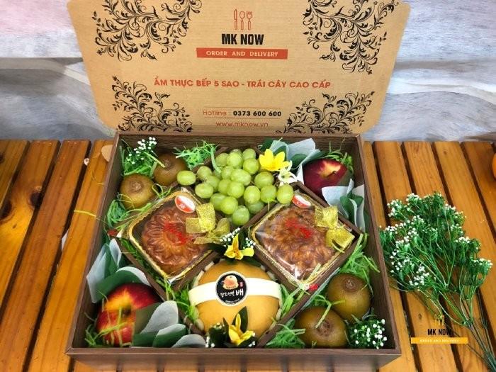 Dịch vụ hộp quà Trung thu - hộp trái cây bánh Trung thu MKnow