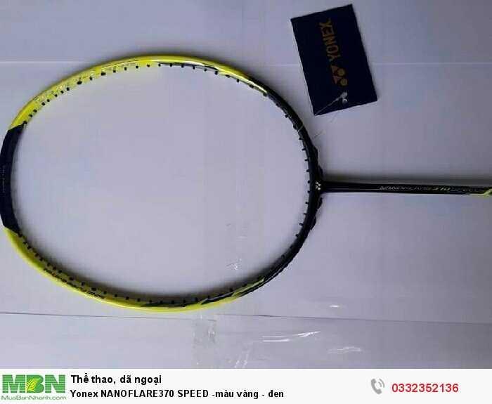 Yonex NANOFLARE370 SPEED -màu vàng - đen1
