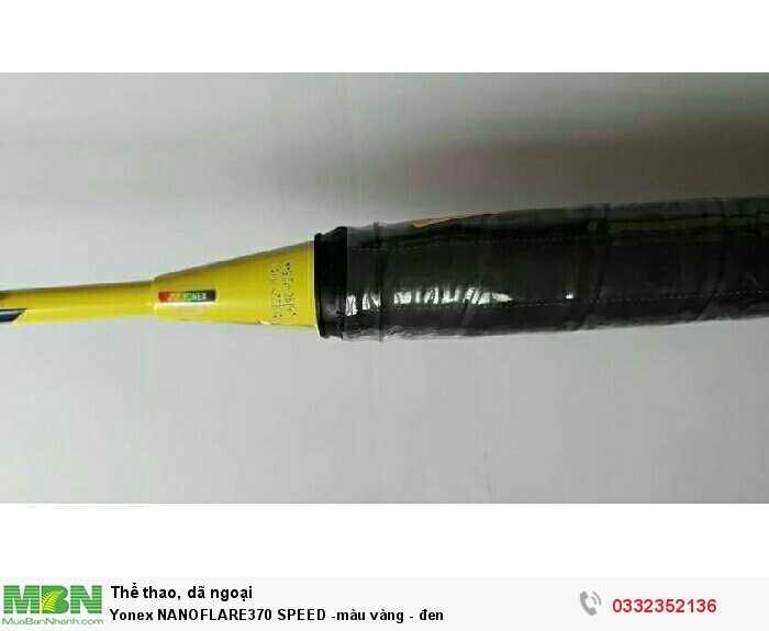 Yonex NANOFLARE370 SPEED -màu vàng - đen3