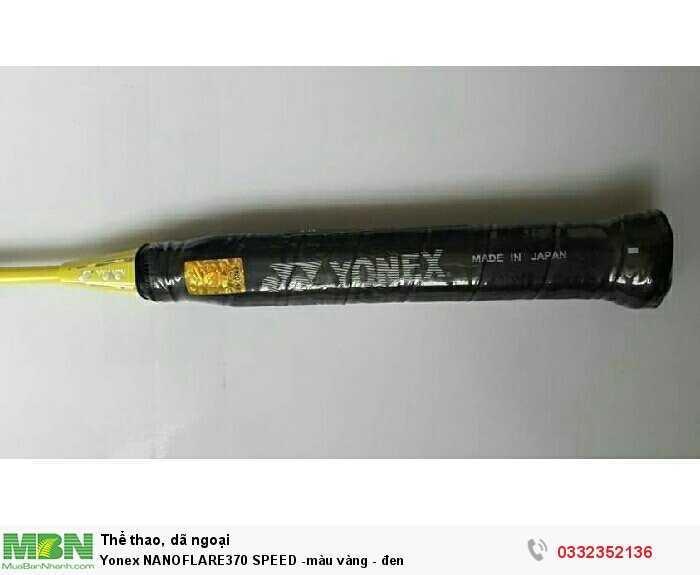 Yonex NANOFLARE370 SPEED -màu vàng - đen4