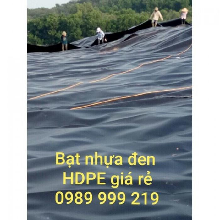 Bạt lót nhựa HDPE, bạt đen nhựa lót ao hồ giá rẻ2