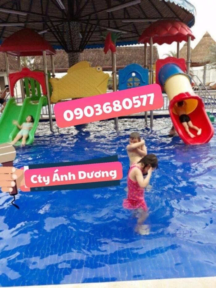 Những mẫu liên hoàn cầu trượt cho trẻ em3