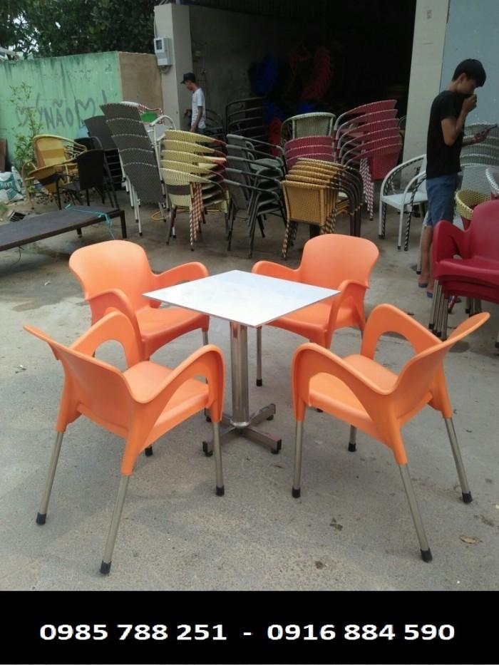 bộ bàn ghế cafe giá rẻ tại xưởng sản xuất2