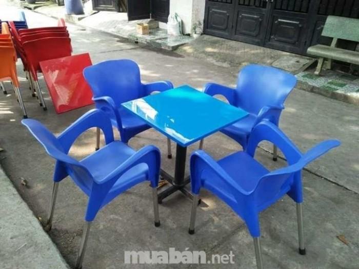 bộ bàn ghế cafe giá rẻ tại xưởng sản xuất1