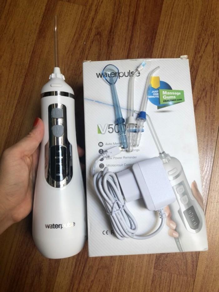 Máy tăm nước, Máy tăm nước Waterpulse V500 được các chuyen gia nha khoa khuyên dùng6