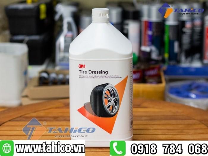 Dung dịch bảo vệ da và chăm sóc cao su 3m tire dressing 39042 tahico3