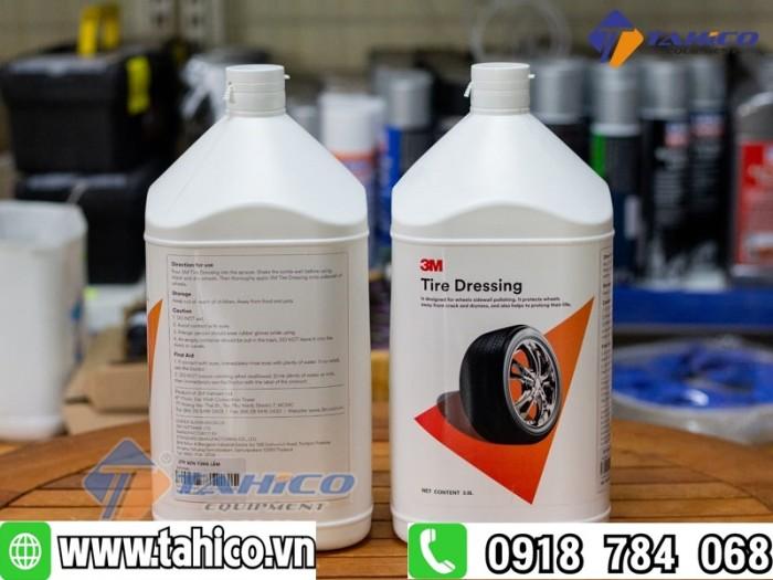 Dung dịch bảo vệ da và chăm sóc cao su 3m tire dressing 39042 tahico2