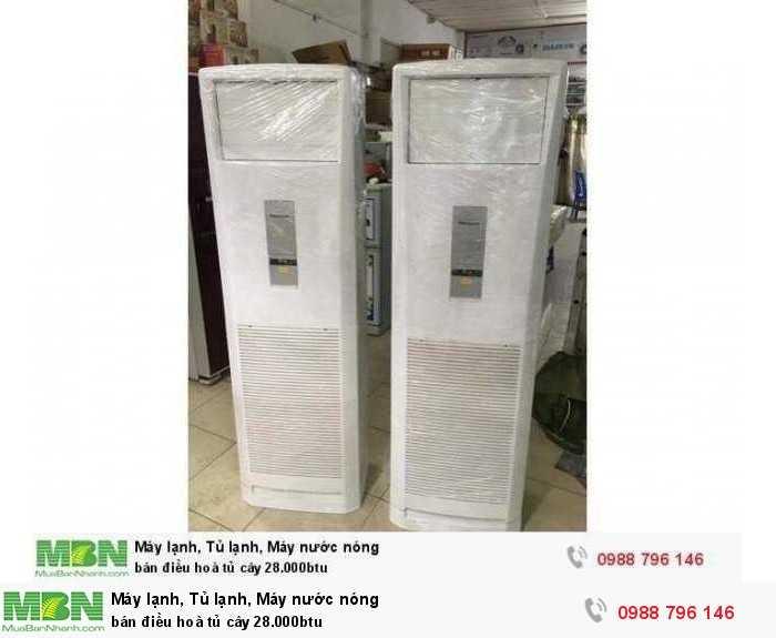 bán điều hoà tủ cây 28.000btu0