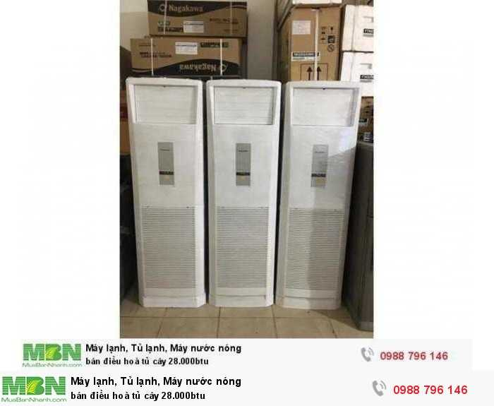 bán điều hoà tủ cây 28.000btu1