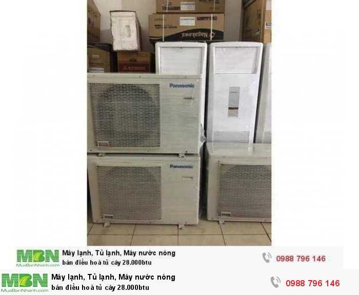 bán điều hoà tủ cây 28.000btu2