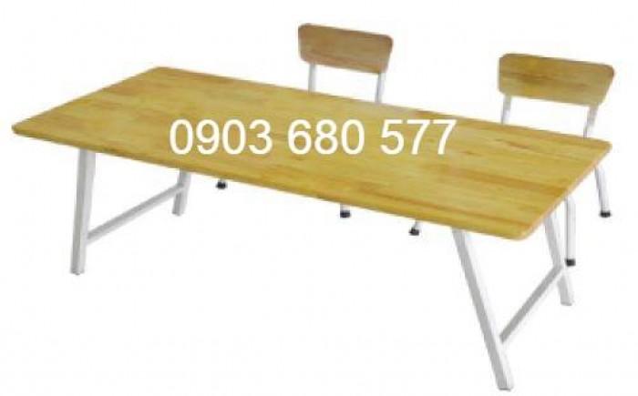 Chuyên sản xuất và cung cấp bàn ghế gỗ mầm non giá cực SỐC19