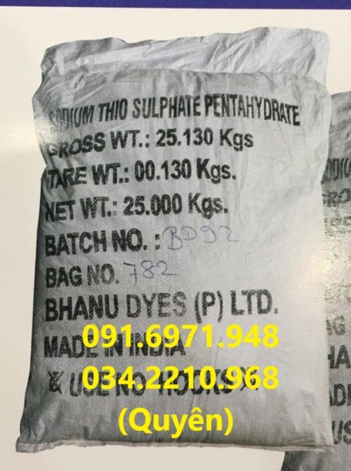 Sodium thiosulphate (Na2S2O3) 99% giúp trung hòa chlorine, chất độc trong ao nuôi thủy sản giá sỉ1