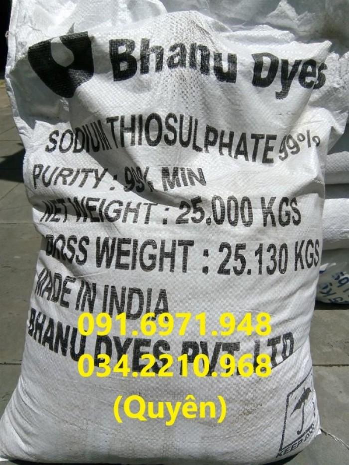Sodium thiosulphate (Na2S2O3) 99% giúp trung hòa chlorine, chất độc trong ao nuôi thủy sản giá sỉ2