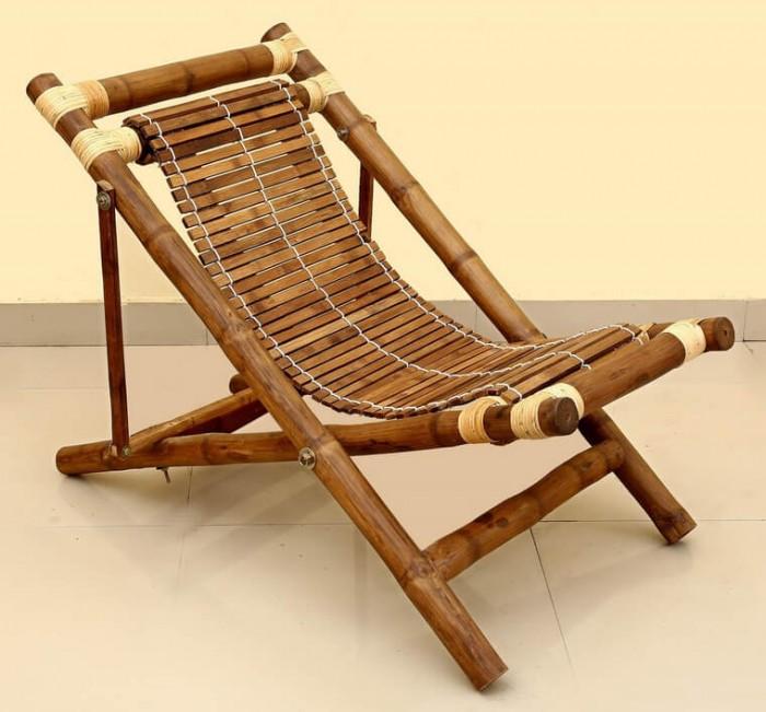 Bán giường gấp bằng tre, ghế bãi biển bằng tre, giường tre: 0901 070 0802