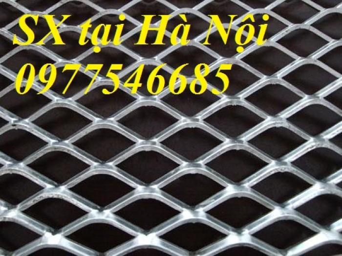 Sản xuất lưới thép hình thoi, lưới kéo giãn, lưới dập giãn, lưới quả trám5