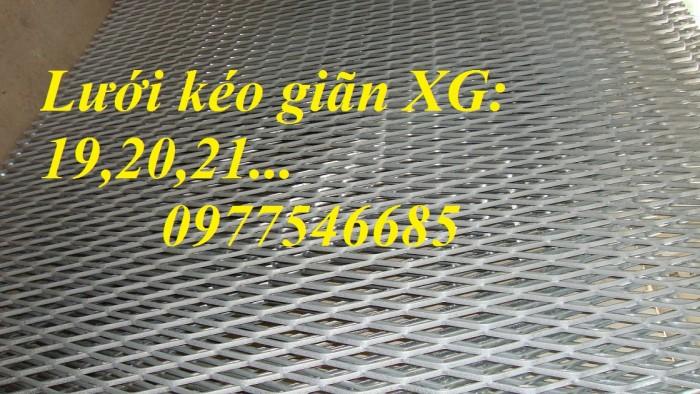 Sản xuất lưới thép hình thoi, lưới kéo giãn, lưới dập giãn, lưới quả trám4