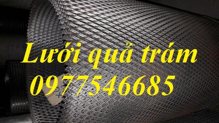 Sản xuất lưới thép hình thoi, lưới kéo giãn, lưới dập giãn, lưới quả trám1