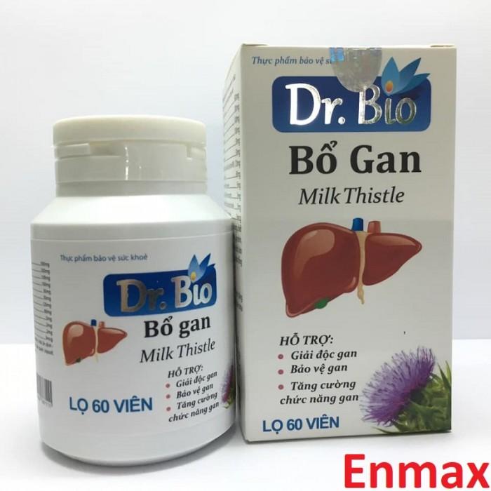 Thảo dược bảo vệ gan Dr Bio giúp giảm nóng trong, thanh nhiệt giải độc gan
