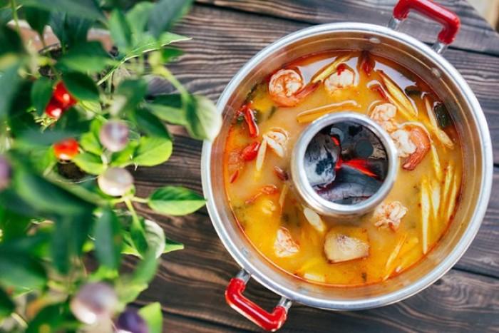Gia vị Lẩu/Soup Creamy Tom Yum Sutharos (Bịch lớn)7