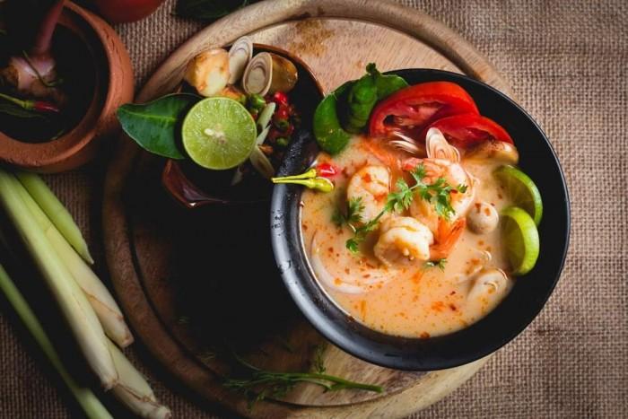 Gia vị Lẩu/Soup Creamy Tom Yum Sutharos (Bịch lớn)5