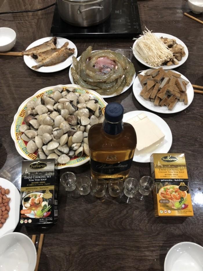 Gia vị Lẩu/Soup Creamy Tom Yum Sutharos (Bịch lớn)2