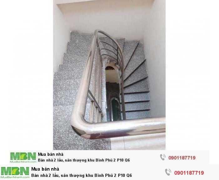 Bán nhà 2 lầu, sân thượng khu Bình Phú 2 P10 Q6