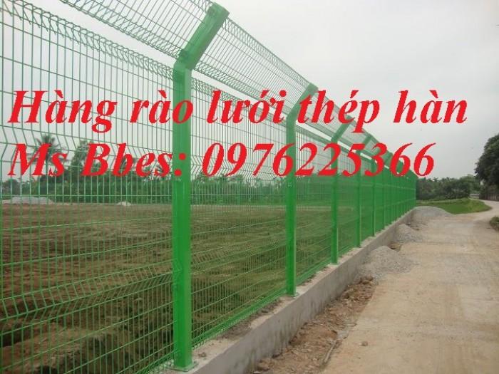 Hàng rào lưới thép mạ kẽm sơn tĩnh điện1