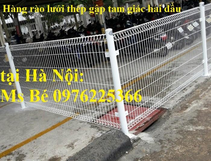 Hàng rào lưới thép mạ kẽm sơn tĩnh điện0